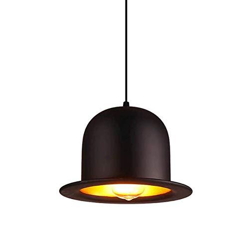 CHENJIA - Luces for lámparas de techo colgante del metal, Sencillez-moderna, aplicable obtenida desde el espacio de la sala, estudio, dormitorio, Balcón 26X18CM (Size : Style one)