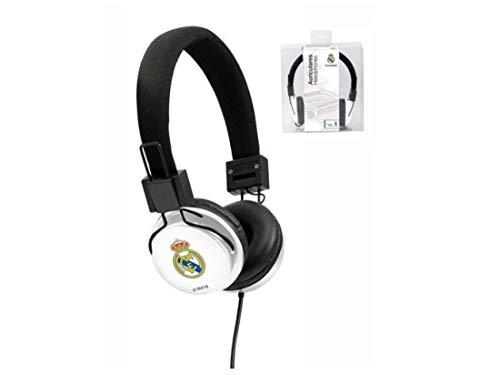 Seva Import Real Madrid Auricular Casco, Blanco, Talla Única