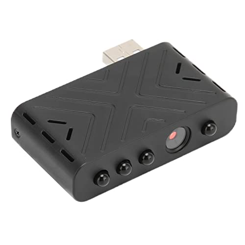 Dilwe Cámara USB WiFi IP Cámara De Vigilancia De Seguridad Portátil HD con Visión Nocturna para Windows, para OS, para Android, para Potplayer