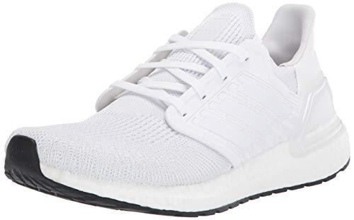 Adidas Ultraboost 20, Zapatillas Running Hombre, FTWR White Grey Core Nero, 44 2/3 EU