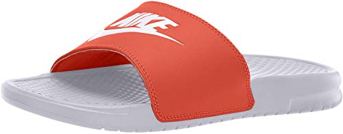 Nike Herren Benassi JDI Badeschuhe, Weiß (White 343880-106), 45 EU