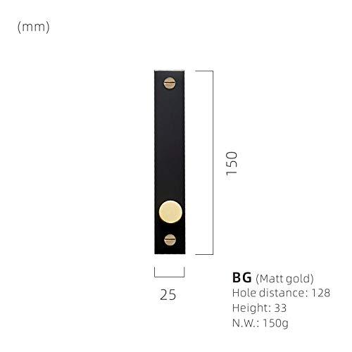 WANDOM deurkamer messing handgrepen ontvouwen/verbergen installeren moderne goud zwart garderobe dressoir kast kast lade meubilair trekt knoppen @BG(Matt_Gold)-M_Others_Please_Remark