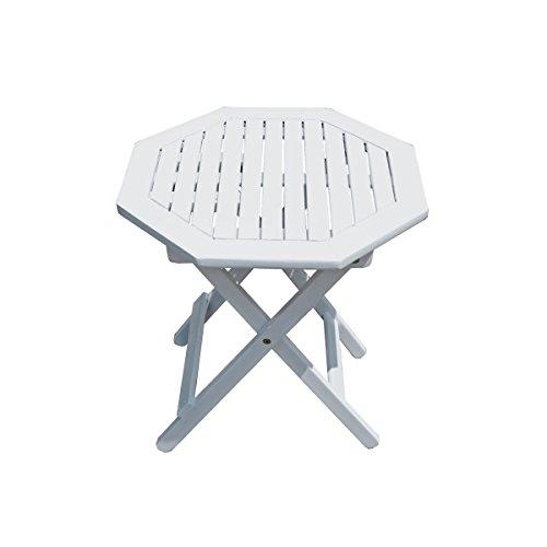 Gartentisch Tisch GLENDALE Garten Klapptisch Balkontisch Holztisch achteckig