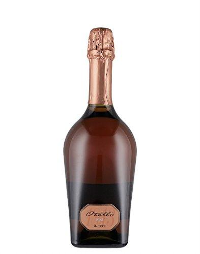 Vino Spumante Extra Dry da uve Pinot Nero Otello Rosé Cantine Ceci - 1 x 0,75l