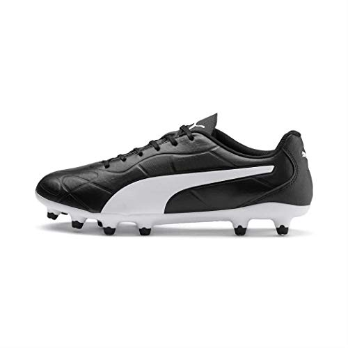 Puma Monarch FG, Chaussures de Football Homme, Black White, NoirPuma Black-Puma White,9 UK (43 EU)