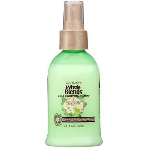 Garnier Whole Blends Refreshing 5-in-1 Lightweight Detangler Spray, Normal Hair, 5 fl. oz.