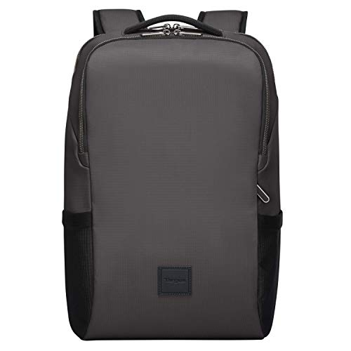 targus cool backpacks Targus Urban Essential Backpack Designed for Business Traveler and School fit up to 15.6-Inch Laptop/Notebook, Gray (TBB59404GL)