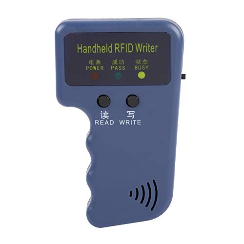 Ergonomischer RFID-Schreiber, tragbarer Kopierer für RFID-ID-Karten, tragbarer Typ EM4100 Mini zum Lesen von Kopierkarten