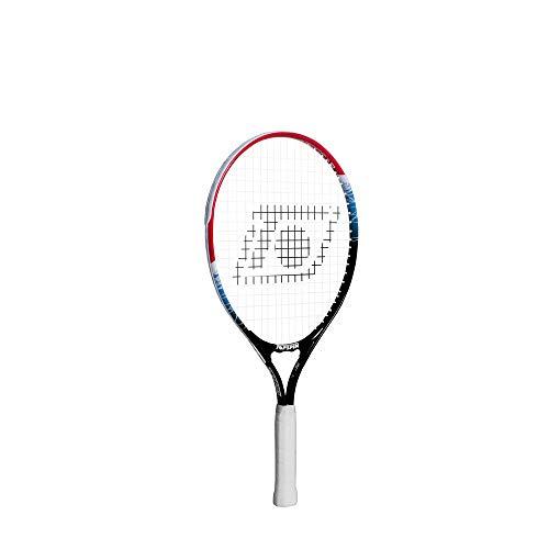 Topspin Kinder Tennisschläger Stage 3 - rot inkl. Besaitung