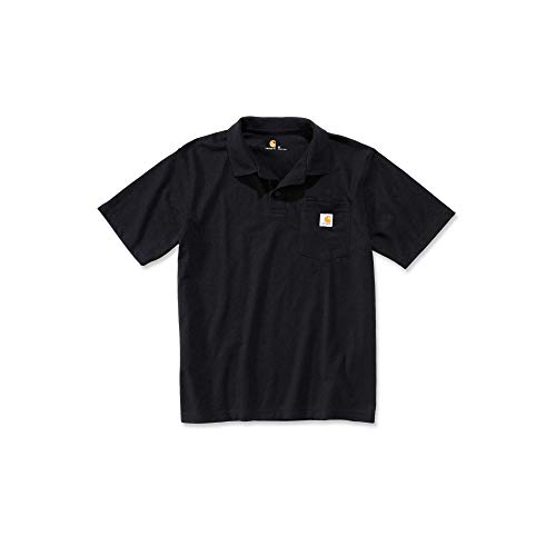 Carhartt Workwear T-Shirt Contractor´s Work Pocket Polo - Black (XL)