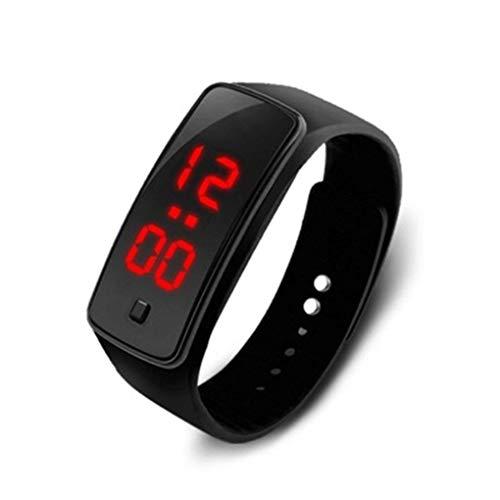 Orologio Digitale Data Silicone Braccialetto LED Bambino Uomo Donne Digital Outdoor Sport dell'orologio dell'orologio della vigilanza del Giocattolo delle Ragazze del Ragazzo del Regalo di Compleanno