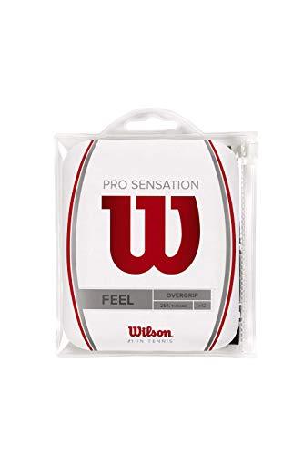 Overgrip Wilson Pro Sensation Preto Pack Com 12 Unidades