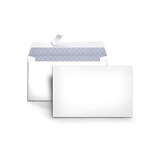 AmazonBasics #6 3/4 Security-Tinted Envelopes with Peel & Seal, 100-Pack, White - AMZA25