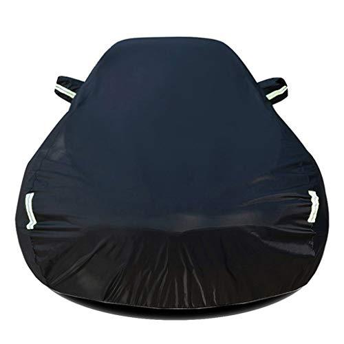 DUWEN Funda para Coche Compatible con Mercedes-Benz C300 Sedan/Coupe/Cabriolet(2017), Cubierta de Coche Todo Clima Oxford Algodón Lona Completa para vehículo Funda de Coche Exterior Lona para Coche