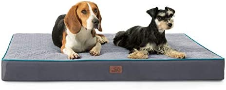 Bedsure XL Orthopedic Memory Foam Dog Beds for Extra Large Dogs Tempurpedic Dog Bed 2 Layer product image