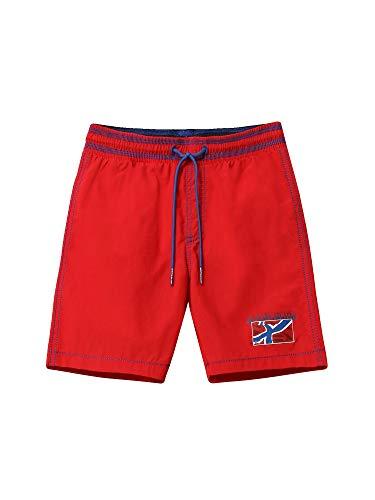NAPAPIJRI K Vally Pantaloncini da Bagno, Rosso (Bright Red R471), 164 (Taglia Unica: 14) Bambino