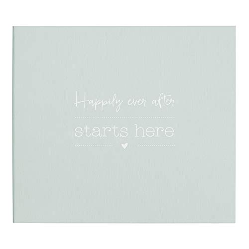 Odernichtoderdoch Fotoalbum | Happily ever after starts here | Mint - Hardcover - Ringbindung - 29,3 x 25,6 cm
