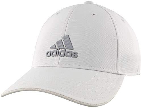 adidas Decision Casquette pour Homme Taille Unique Blanc/Gris Clair