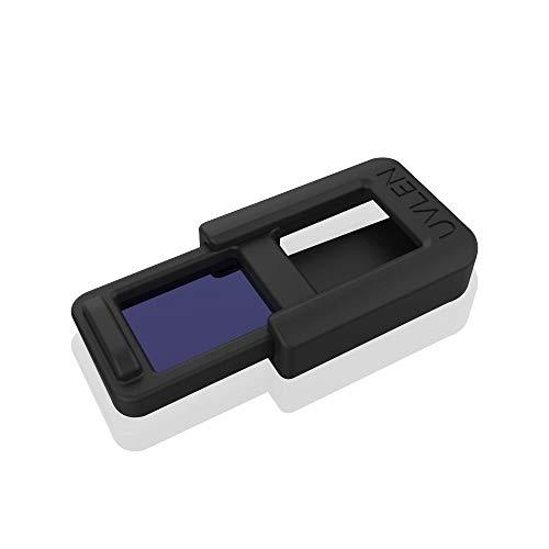 Servotech UV Len Digital Sanitizer FAR UVC Technology 222 Nm Wave Length Turn Your Smart-Phone in a within 10 Seconds Single Piece (Black)