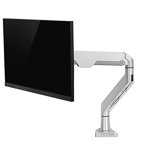 Soportes Para Monitor De Computadora Brazo Mecánico De Elevación De Monitor Monitor De Computadora Giratorio Retráctil Fácil De Instalar, Aleación De Aluminio