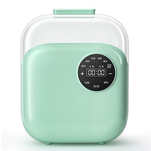 2 in 1 Baby Bottle Warmer fles Stoomsterilisator, verwisselbare Verwarming Hood en Dual Temperatuur Display voor het steriliseren Warming Milk Verwarming Eten