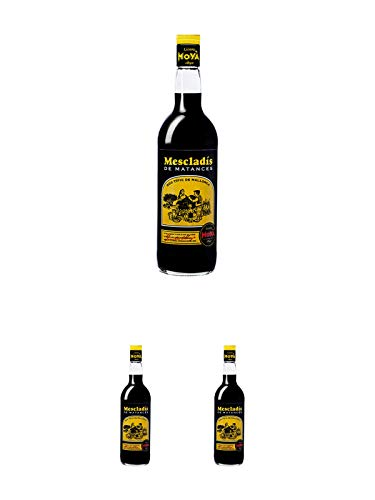 Licores Moya Mescladis Kräuterlikör 32% 1,0 Liter + Licores Moya Mescladis Kräuterlikör 32% 1,0 Liter + Licores Moya Mescladis Kräuterlikör 32% 1,0 Liter