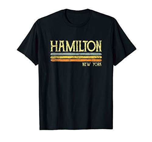 Vintage Hamilton New York NYC Gift Love Souvenir Merchandise T-Shirt