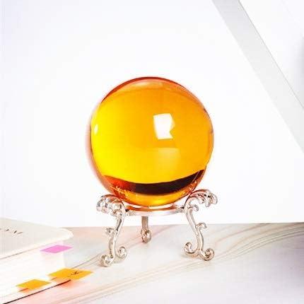 HONGYIFEI2021 Energy Max 75% OFF Crystal Balls Now free shipping Ball Yellow Colorful