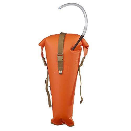 Watershed FUTA Stowfloat Waterproof UV-Resistant Kayak Float Bag, Orange
