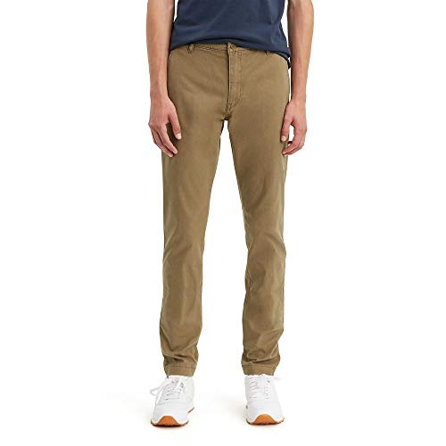 Levi's Men's XXStandard Tapered Chino Pants, Cougar - Stretch, 33W x 32L