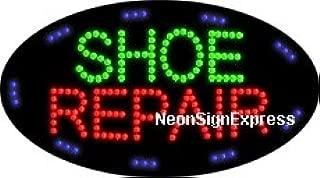 Animated Shoe Repair LED Sign