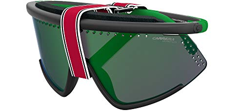 Carrera HYPERFIT 10/S Gafas de sol, Blckgreen, 99 Unisex Adulto