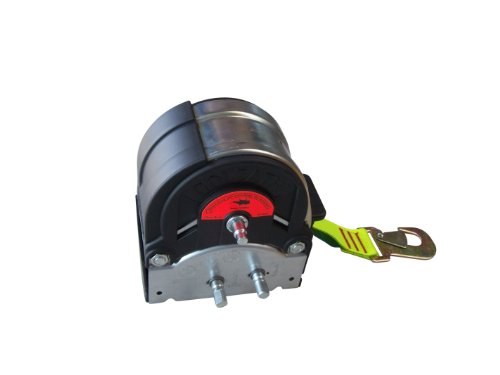 Handseilwinde für Bootstrailer mit Gurtband 1200 kg Seilwinde