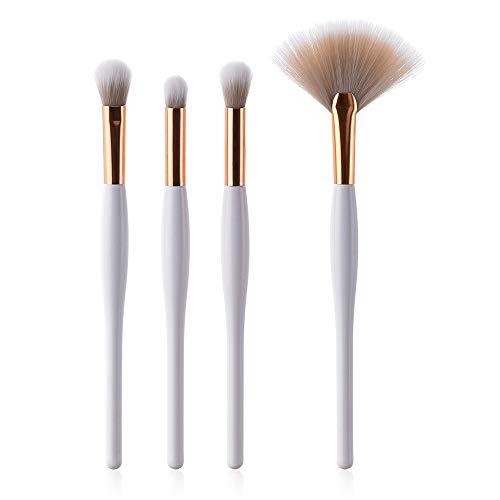 MEIYY Pinceau de maquillage 4Pcs Pro Cosmetic Makeup Brushes Set Foundation Powder Face Concealer Brushes Blending Contour Make Up Tools