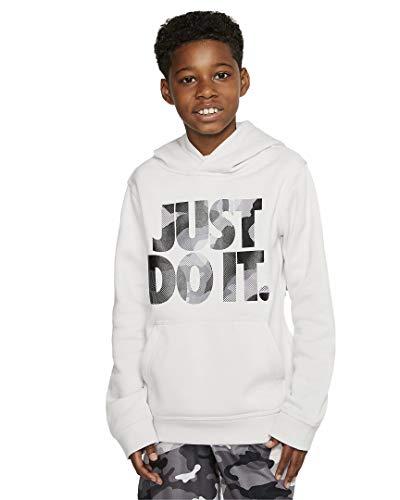 Nike Boys NSW Pull Over Hoodie Club (Vast Grey, m)