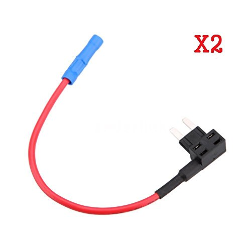 PITTASOFT BLACKVUE 2PCS Mini Fuse TAP + 5AMP Fuse for BLACKVUE ONLY Power Magic PRO / DR530W-2CH / DR550GW-2CH / DR600GW / DR650GW-2CH / DR650S-1CH / DR650S-2CH