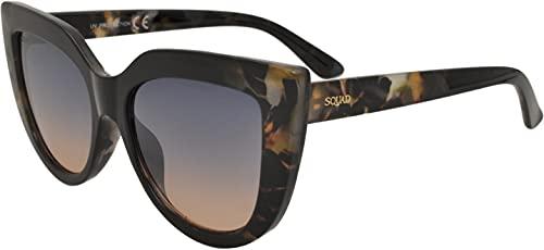 SQUAD Gafas de sol mujeres y hombres Fashion Casual Ojos de gato 100% protección UV400