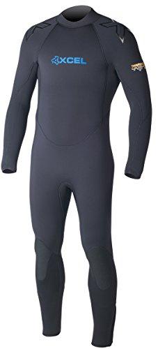 XCEL 7/6mm Men's ThermoFlex TDC Scuba Wetsuit - Black, 2XL