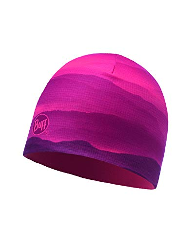 Buff Soft Hills Gorro Reversible Microfibra, Mujer, Pink Fluor, Talla Única