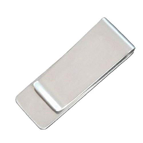 Goodplan 1 STÜCKE Mini Edelstahl Geldscheinklammer Durable Geldscheinklammer Büroklammer Geldhalter für Lagerung Geld Verwenden Silber