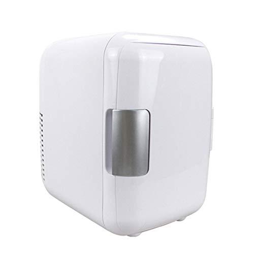 Mini neveras 4L, sistema de refrigeración/calefacción con alimentación de CA/CC para coche, enfriador y calentador, congelador silencioso portátil para el hogar con poco ruido por debajo de 28dB(A), 6