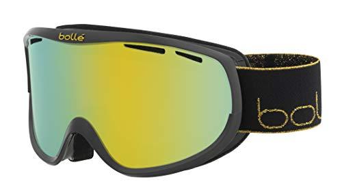 bollé Sierra Gafas de Ski Black & Gold Mujeres Small/Medium, Black Gold Shiny/Sunshine Cat.3, S-M