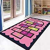 Rug Kindertapijten, baby-kinderdagverblijf, rugskids tapijt, tapijt, meisjes, slaapkamer, speelmat, school, klaslokaal, leren tapijt, edagogisch tapijt, B, 140 × 200 cm