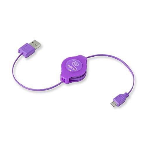 ReTrak Retractable Micro USB Cable ( ETCABLEMICRL)
