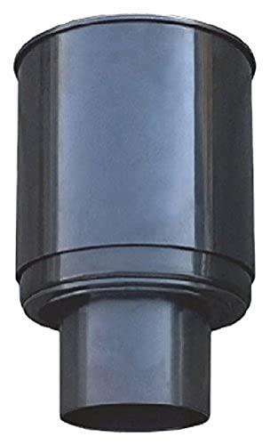 AquaForte Schwimmender Skimmer, mit Korb, Schwarz