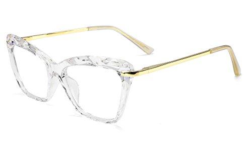 FEISEDY Cat Eye Glasses Frame Clear Lenses Eyewear Women B2440