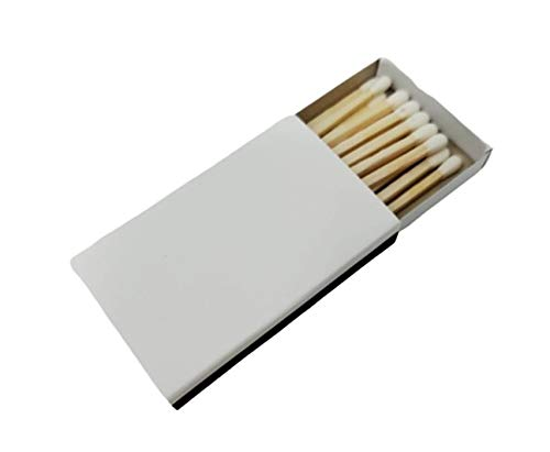 White Boxes of Matches with Strike On - 50
