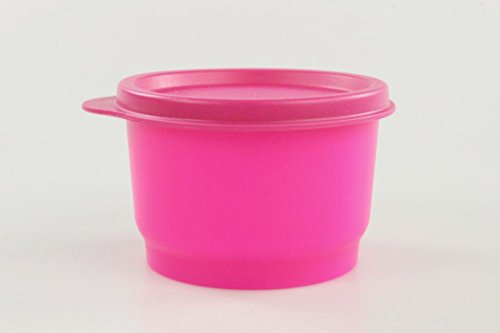 TUPPERWARE Kinder Kunterbunt 120 ml NEON pink (1) Box Dosen Behälter P 18522