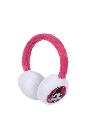 Cache oreilles enfant fille LOL Surprise ! Blanc/rose et Rose Taille unique (Blanc/rose)