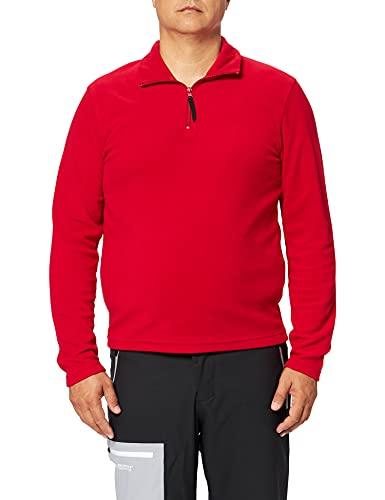 Regatta Herren Fleece-Jacke, Mikro-Reißverschluss, Rot (klassisches Rot), Größe XXL (Herstellergröße: XXL)